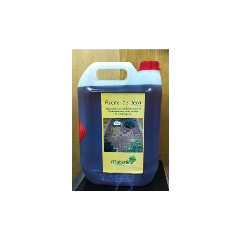 Aceite teca exterior 5L